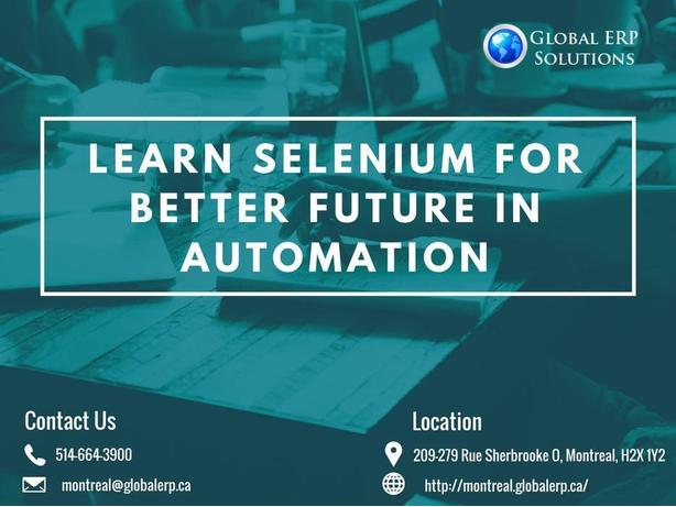 Learn Selenium from experienced QA professionals in Montreal