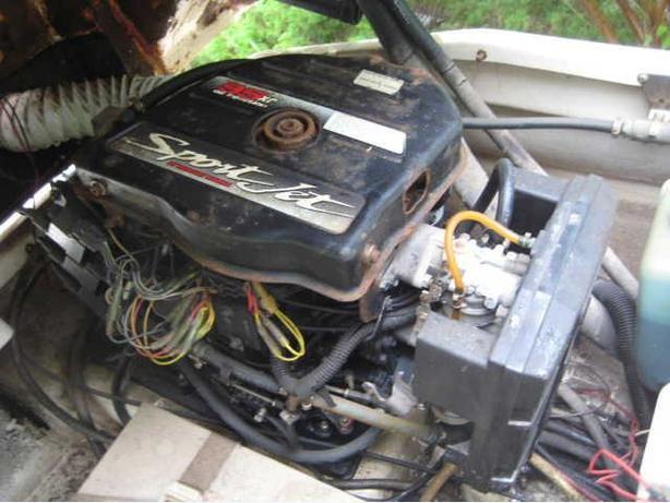 ★ 1994 MERCURY XR95 SPORTJET Motor + FREE BOAT ★