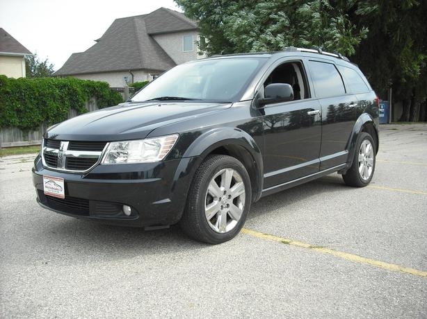 All wheel drive, 7 passenger with low mileage, 2010 Journey RT
