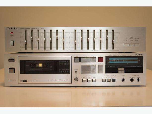 Vintage 7 band EQ and AL-55 Tape Deck (needs repair)