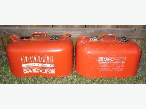 ★ Metal 5 Gal Boat Gas Tanks ★