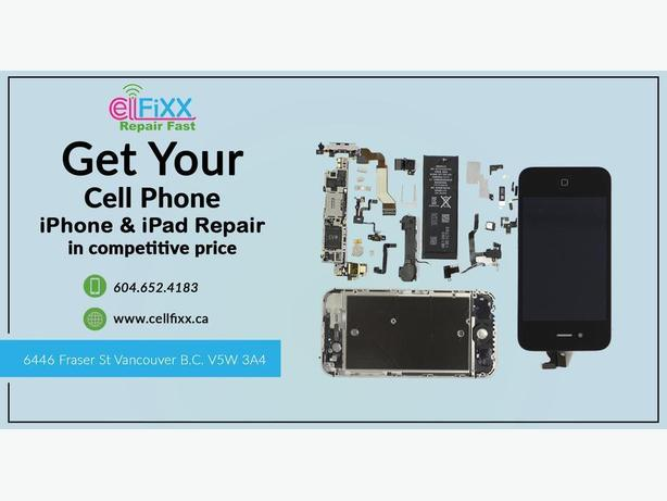 LG screen/glass repair with handsome discount in Vancouver