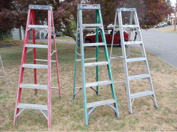 X3 6ft A Frame Ladders