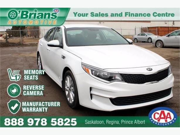 2016 Kia Optima LX+ w/Mfg Warranty