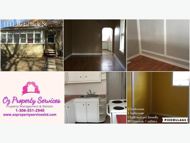 2 bedroom house at 1111 Retallack St