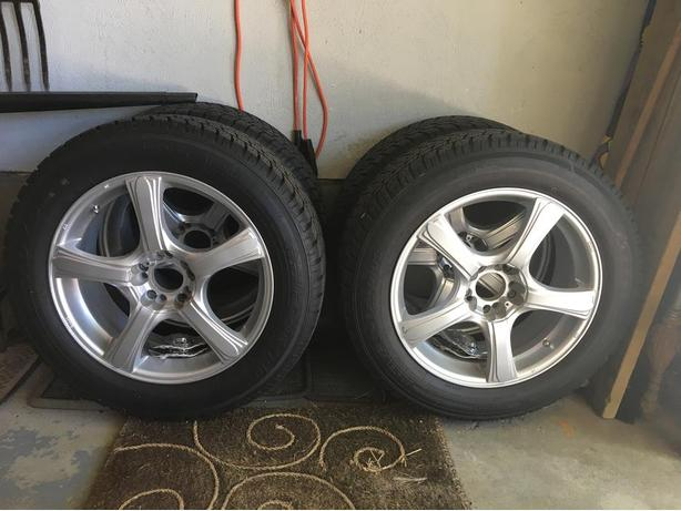 Winter Tires on Sport Rims