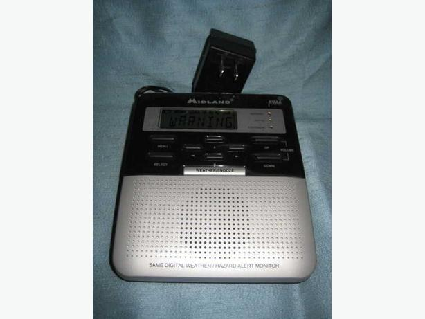 ★ Midland Emergency Weather Radio CLC S.A.M.E. NOAA ★