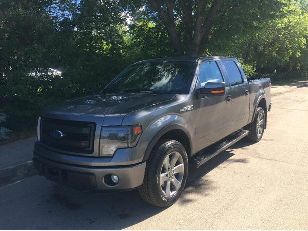 2013 Ford F-150 FX4 SuperCrew Grey