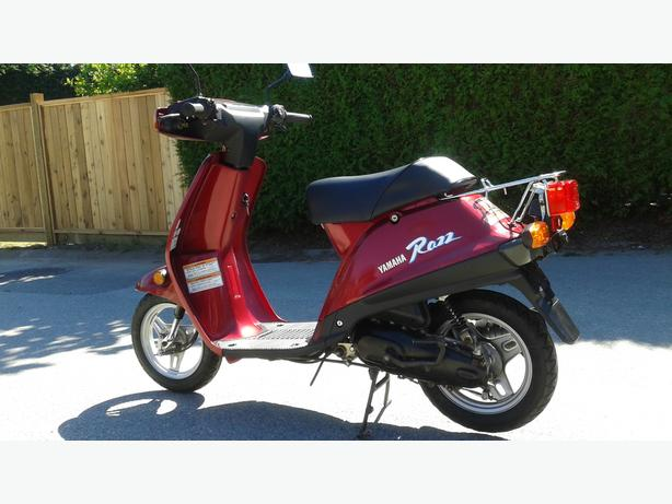 MINT! Yamaha Riva Razz Scooter, LOW kms!