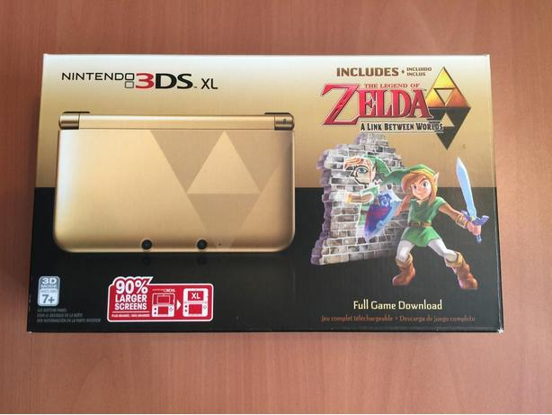 Limited edition Link Between Worlds Nintendo 3ds xl. Like new.