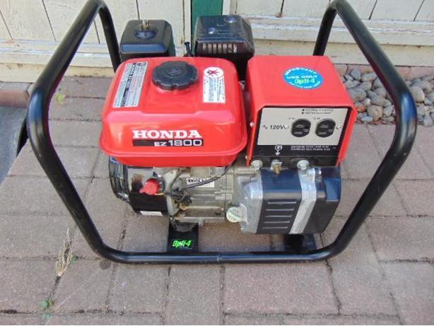 Honda 1800 Generator Used Once As New Works Perfect