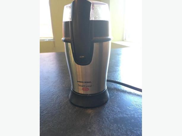 Black & Decker coffee bean grinder