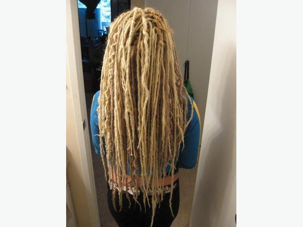 Custom Synthetic Dreadlock Extensions and Installs