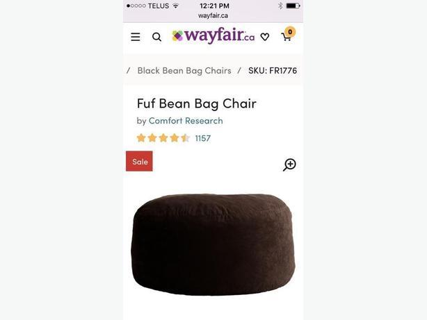 Brand New Fuf Bean bag chair