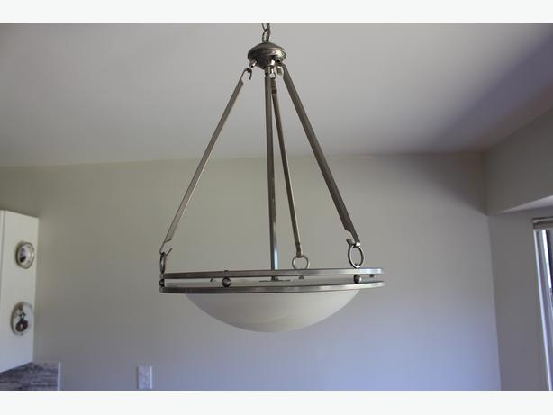 Four light fixtures