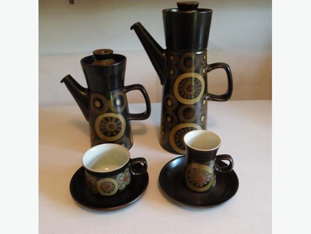 "Denby ""Samarkand"" vintage stoneware china - 1960s"