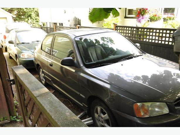 2002 Hyundai Accent GSI