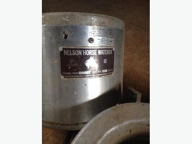 Nelson Horse Watering system