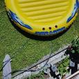 SEADOO 'paradise island' inflatable raft ( 8ft. diameter )
