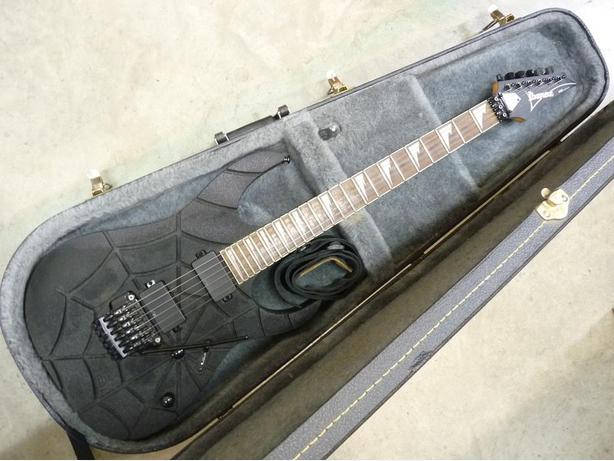 Ibanez RG420EG SPIDER WEB right hand electric guitar with case