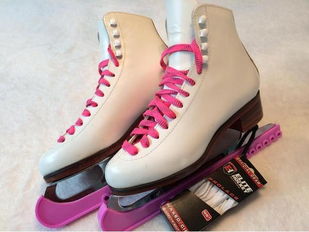 Ladies White Skates