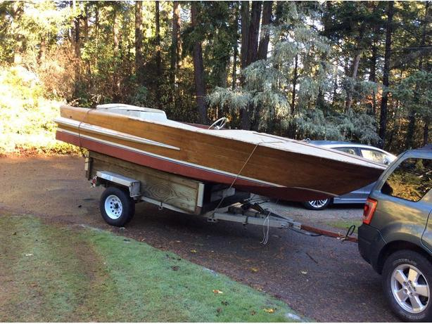 1963 Chris craft project