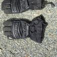 leather leg covers/gloves.  windscreen