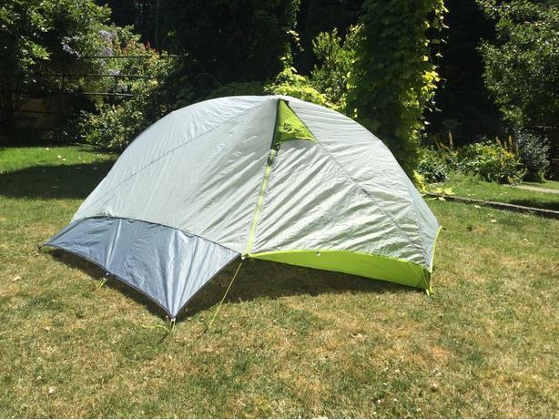 Ultralight bikepacking tent
