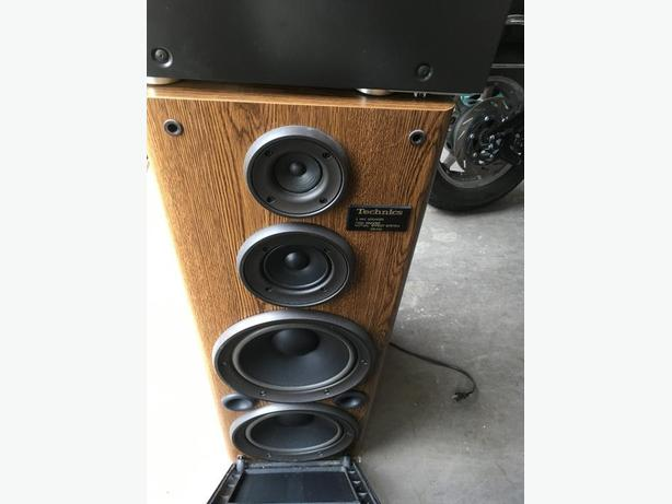 Techniques 3 Way Speakers