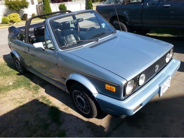 1988 Volkswagen Cabriolet Golf AZUR EDITION