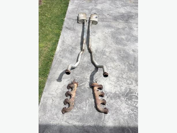 "1964 1/2 to 1966 Ford Mustang 2"" Dual Exhaust"