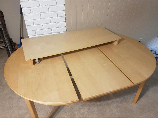 Maple Veneer Kitchen Table