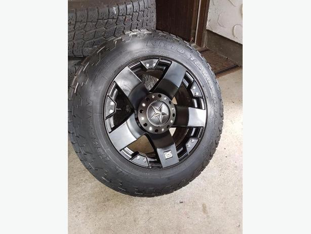 33.5 inch tires on 20 inch rims