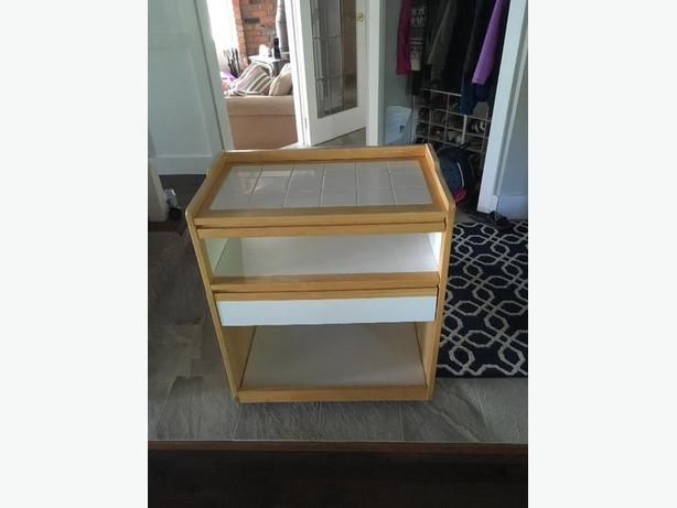 microwave stand/kitchen cart