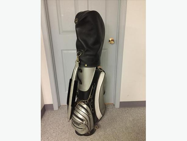 Mens Right Hand Golf Clubs and Golf bag