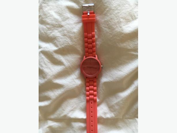 Silicone Ladies Watch