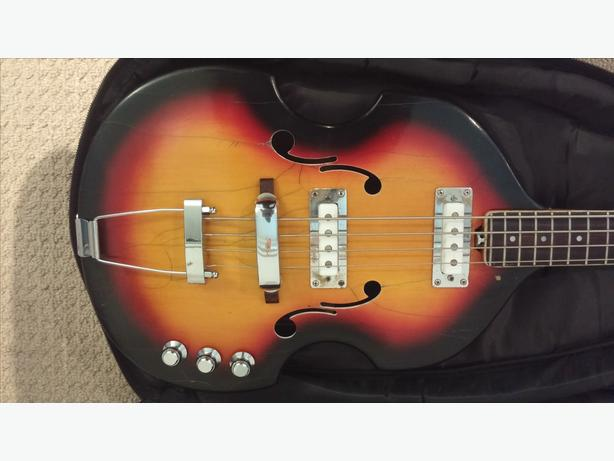1967 Vox V250 Viola Bass