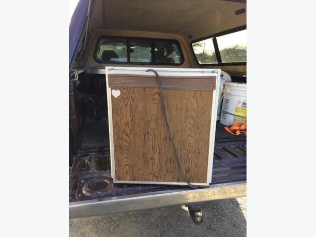 FREE: tent trailer fridge