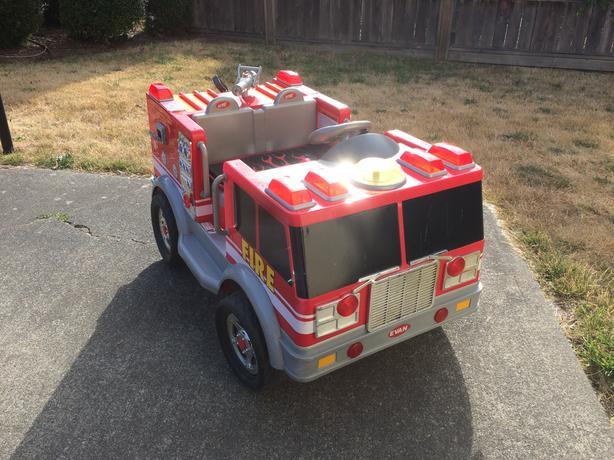 Ride-On Firetruck