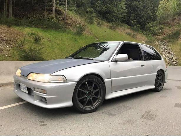 89 Civic hatch