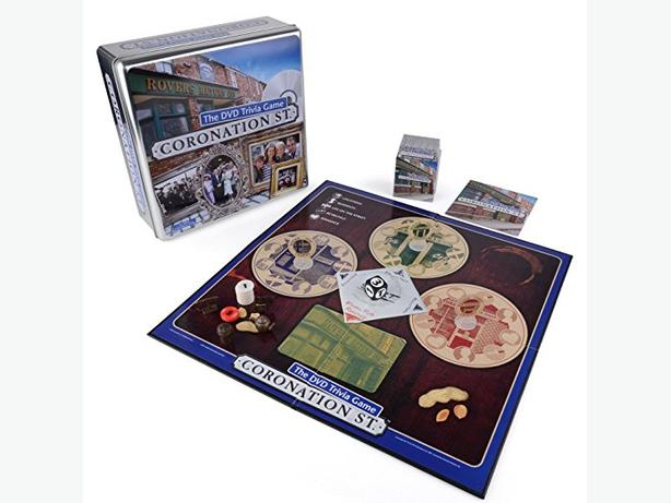 CORONATION STREET DVD Trivia game - Brand new
