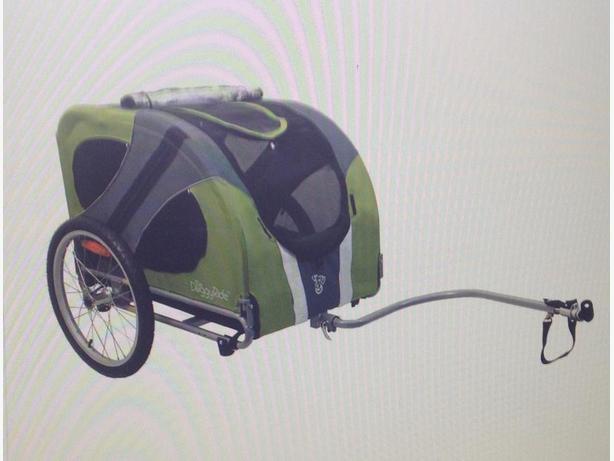 Doggie ride bike trailer/stroller