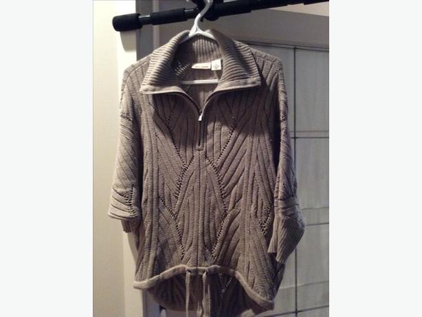 DKNY poncho type sweater