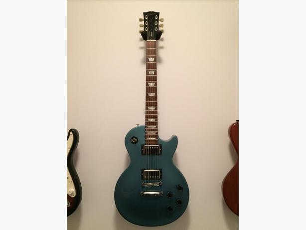 Gibson Les Paul Studio 2006 flip flop teal blue