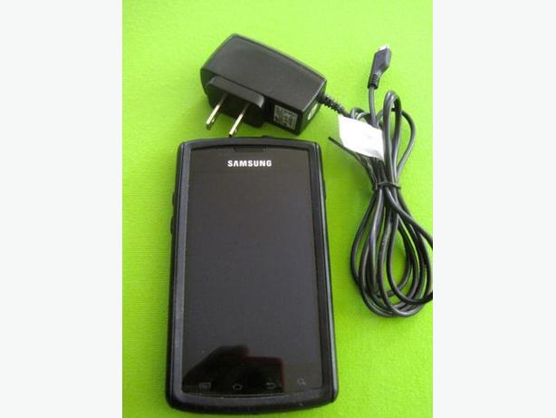 Samsung Galaxy S Captivate Cell Phone With Otter Box Cover