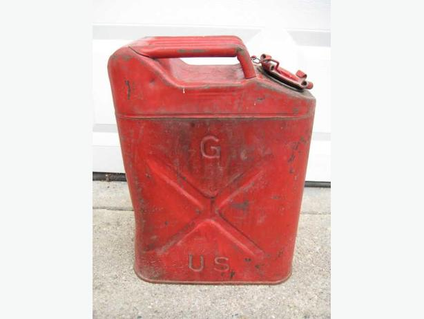 ★ Vintage Dot-5L 20-5-52 Red 5 Gallon Metal USMC Jerry Can ★