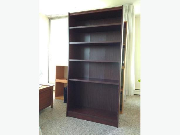 Cherrywood laminate bookshelf