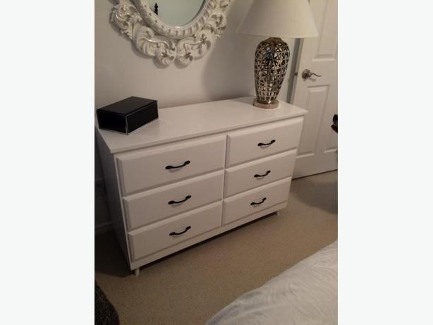older wood dresser