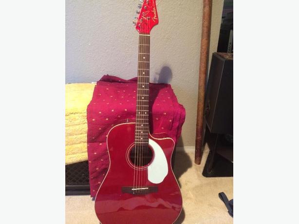 Fender Sonora cutaway Acoustic