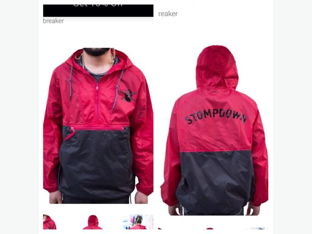 Men's Stompdown windbreaker jacket